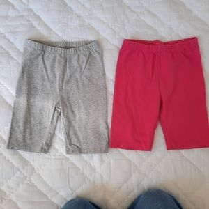 4/$20 The Childrens Place Bike Shorts